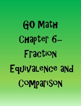 GO Math 4th Grade Chapters 6-13 (Green and Purple Bands)