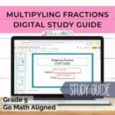 GO Math Aligned Grade 5 Ch. 7 Digital Study Guide Multiply