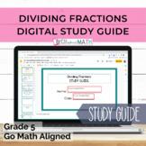 GO Math Aligned Grade 5 Chapter 8 Digital Study Guide Divi