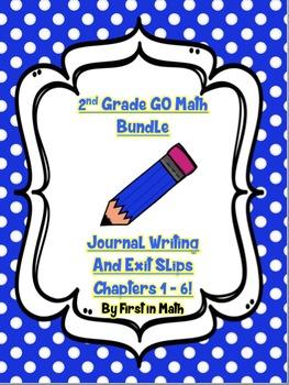 GO Math Bundle - 2nd Grade Chapters 1 - 6: Problem Solving