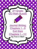 GO Math Bundle - 2nd Grade Problem Solving & Exit Slips Fo