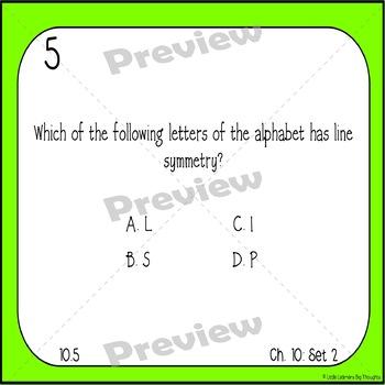 GO Math Chapter 10 Task Cards Grade 4