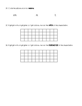 GO Math Chapter 11 Vocabulary Study Guide and Test