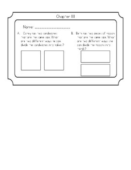 GO Math Chapter 11 Exit Tickets Grade 2
