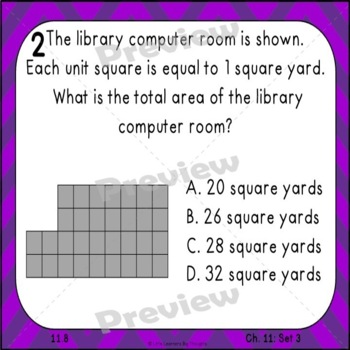 GO Math Chapter 11 Task Cards Grade 3