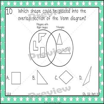 GO Math Chapter 12 Task Cards Grade 3
