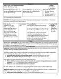 GO Math Chapter 3 Lesson Plans, Grade 2
