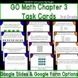 GO Math Chapter 3 Task Cards Grade 3