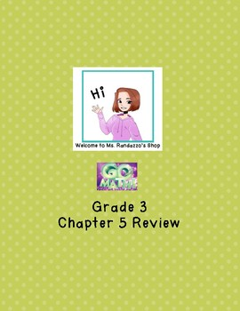 GO Math Chapter 5 Review
