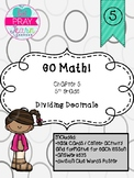 GO Math! Chapter 5 for 5th Grade