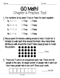 GO Math Chapter 6 Test and Practice Test-3rd Grade