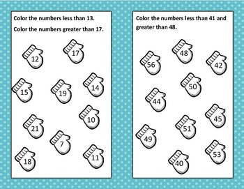 G.O. Math Chapter 7 Compare Numbers B.U.I.L.D. Centers