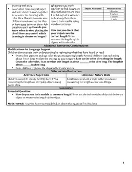 GO Math Chapter 8 Lesson Plans, Grade 2
