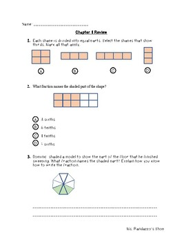 GO Math Chapter 8 Review