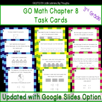 Go Math Chapter 8 Centers Worksheets Teaching Resources TpT