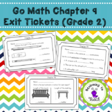 GO Math Chapter 9 Exit Tickets Grade 2