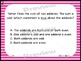 GO Math Chapters 1-4 Task Cards Third Grade Bundle