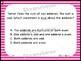 GO Math Chapters 1-4 Task Card Bundle Grade 3