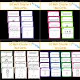 GO Math Chapters 9-12 Task Card Bundle Grade 4