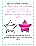 GO Math - First Grade, Chapter 5 - Journal Writing and Exit Slips