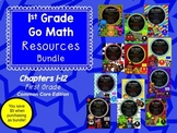 GO Math First Grade Common Core Bundle!