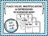 GO Math Grade 5 Chapter 1 Scavenger Hunt!