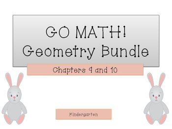 GO Math! K.Geometry Bundle