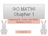 GO Math! Kindergarten Chapter 1 Activities (Numbers to 5)