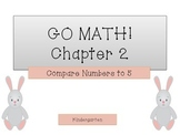 GO Math! Kindergarten Chapter 2 (Comparing Numbers to 5)