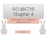GO Math! Kindergarten Chapter 4 Activities (Represent and