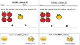 GO Math Kindergarten, Chapter 5 - Exit Tickets