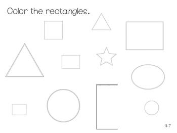 GO Math Kindergarten Chapter 9 - 2 Dimensional Shapes