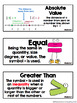 GO Math! Math Vocabulary Cards (Growing Download)