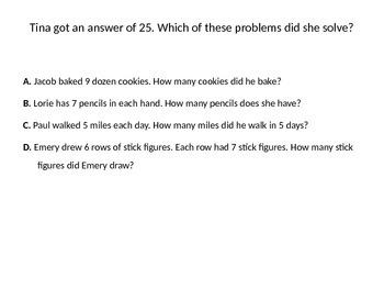 GO Math TEKS Unit Test Review