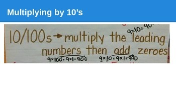 GO Math lesson 7.2 Multiplying by 5's and 10's