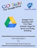 GO Tech! for Google Drive Form Quizzes - Introduction to E