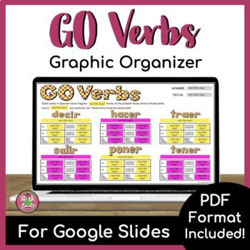 GO Verbs Graphic Organizer