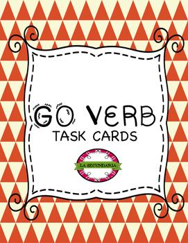 GO Verbs Task Cards