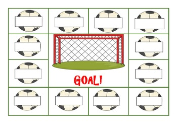 """GOAL! - A spelling activity for """"oa"""" and """"oe"""""""