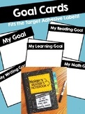 GOAL CARDS BUNDLE! Fits the Target Adhesive Labels!