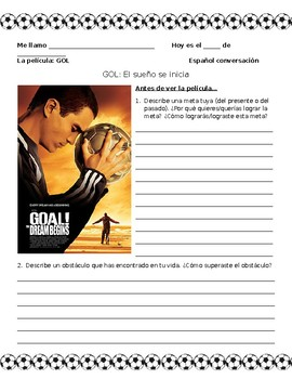 GOAL Movie Packet