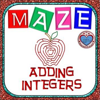 Maze - Adding Integers