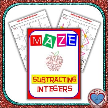 Maze - Subtracting Integers