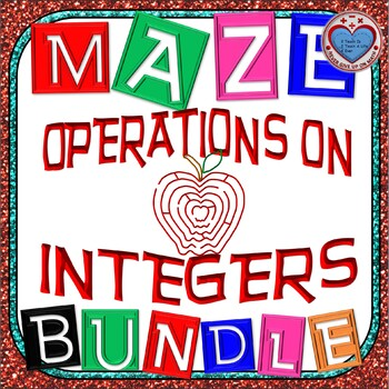 Maze - BUNDLE Operations on Integers
