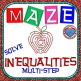 Maze - Solving Multi-Step Inequalities