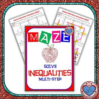 Maze - Solving Multi-Step Inequalities