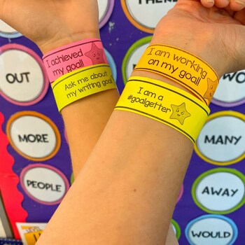 GOALS WRISTBANDS