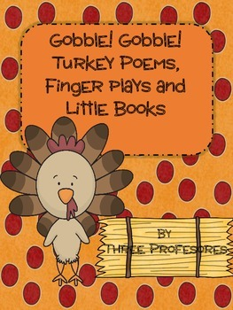 GOBBLE, GOBBLE,  TURKEY POEMS!