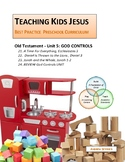 GOD CONTROLS Unit_Eccl. 3 - Jonah 2 TEACHING KIDS JESUS BEST PRACTICE PRESCHOOL