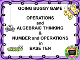 GOING BUGGY! GAME  CCSSOA. A.1-D.8 AND CCSSNBT A.1-C.6